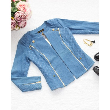 Denim Jacket (Blue)