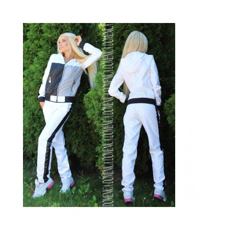 Metal Zipper Set (White)