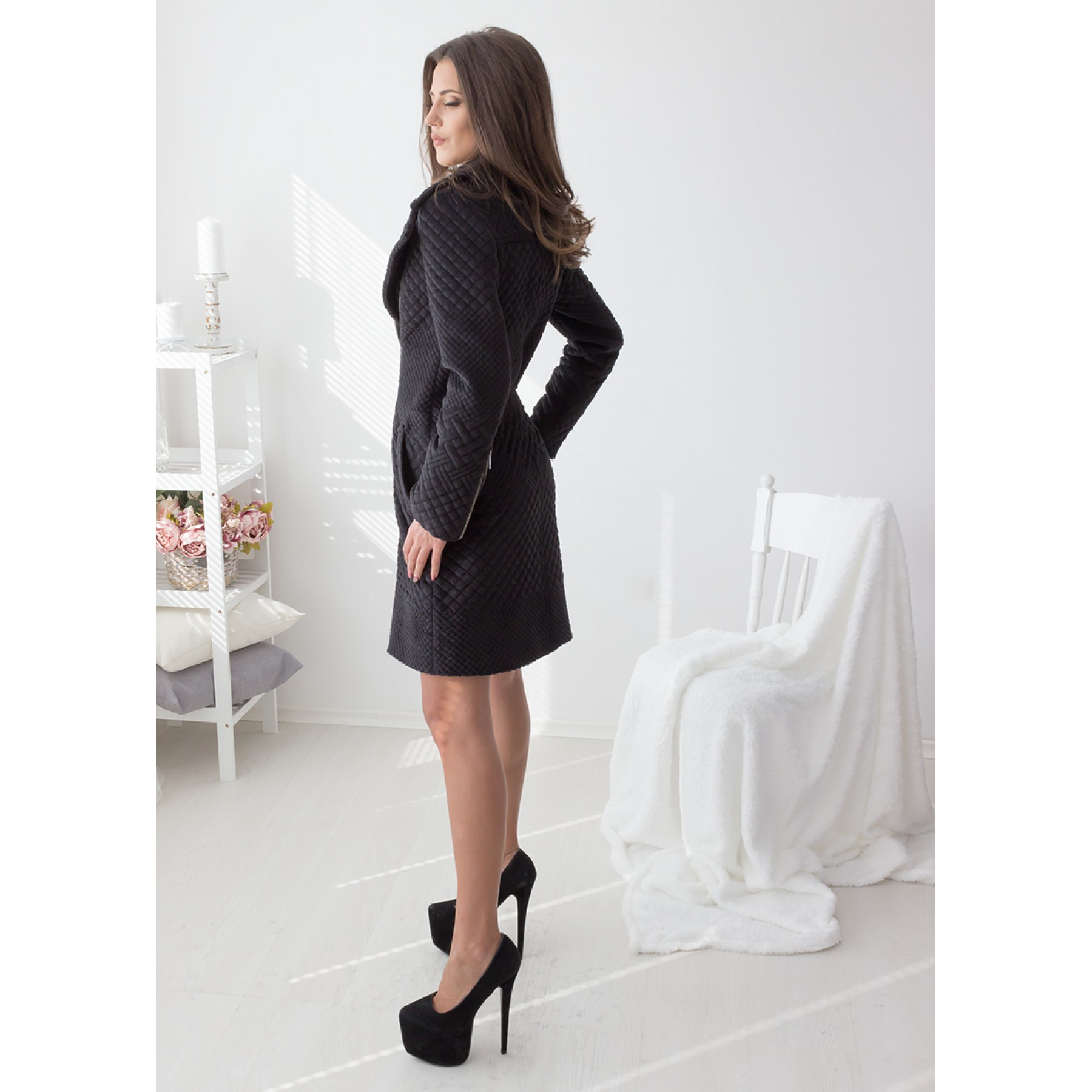 Night Sky Coat (Black)