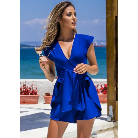Favourite Day Playsuit (Cobalt)