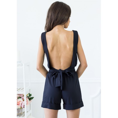 Veronica Playsuit (Black)