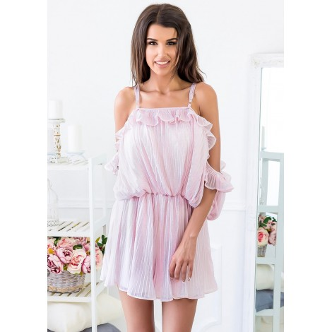 Sweet Secrets Playsuit (Blush)