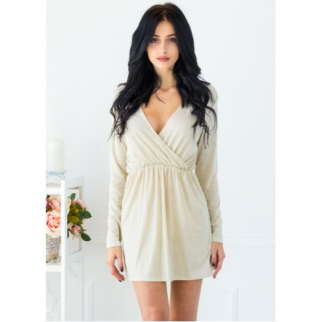 Moonflower Mini Dress (Gold)