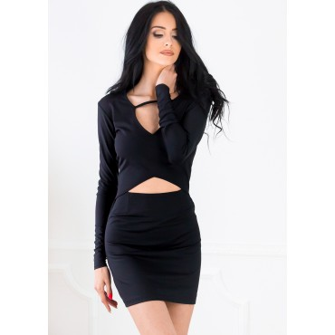 Sabotage Mini Dress (Black)