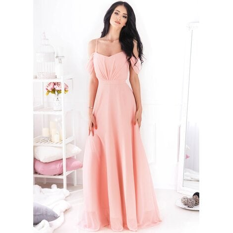 Juliette Maxi Dress (Peach)