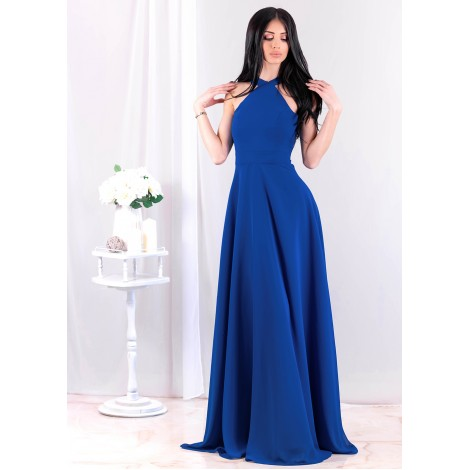 Beatrice Maxi Dress (Cobalt)