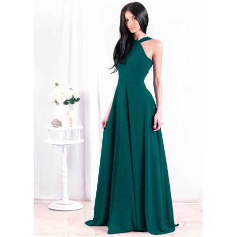 Beatrice Maxi Dress (Emerald)