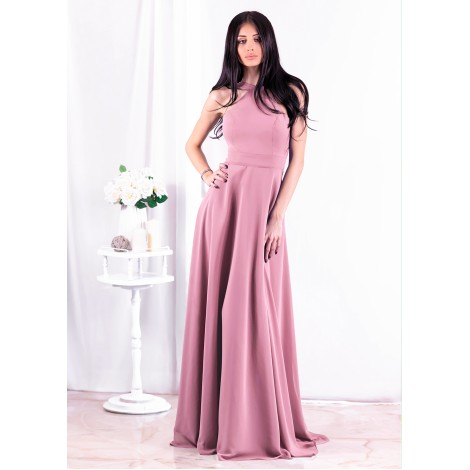 Beatrice Maxi Dress (Mauve)