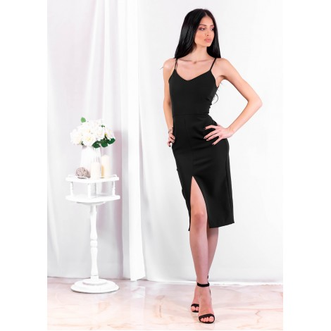 Loveday Midi Dress (Black)