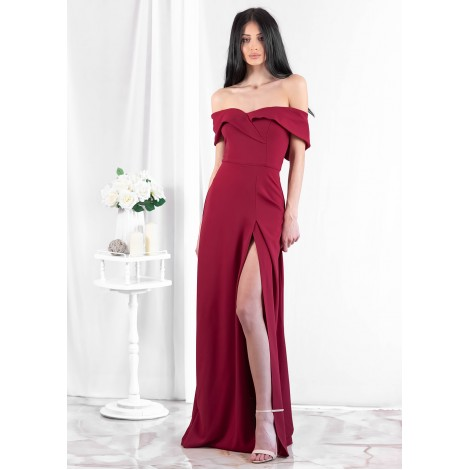 Glory Maxi Dress (Wine)