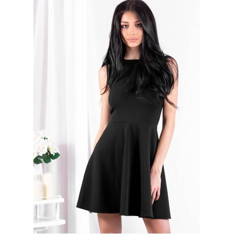 Element Mini Dress (Black)