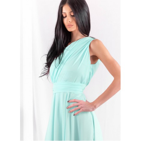 Stephanie Maxi Dress (Mint)
