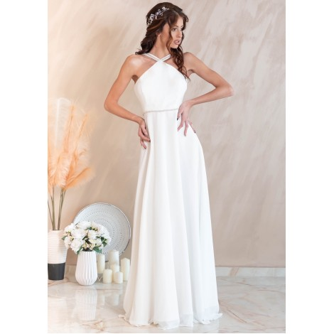 Blanche Maxi Dress (Ivory)