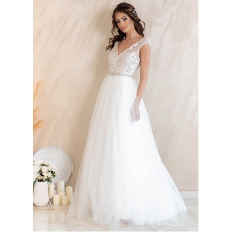 Vernier Wedding Dress (Ivory)