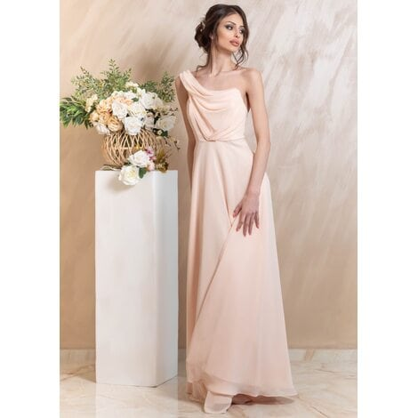 Veronica Maxi Dress (Pink Champagne)