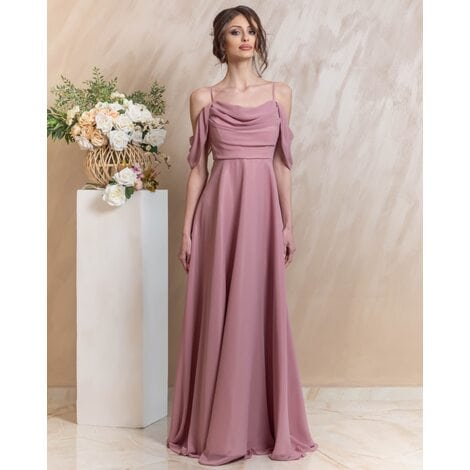 Eleanor Maxi Dress (Dusty Rose)