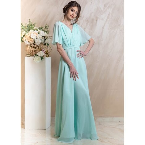 Daphne Maxi Dress (Mint)