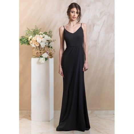 Lionella Maxi Dress (Black)