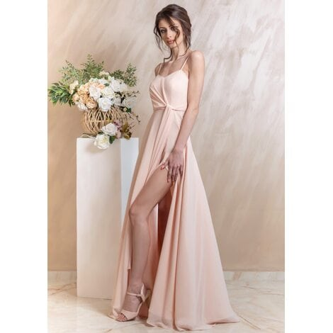 Darlene Maxi Dress (Pink Champagne)