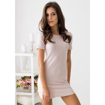 Brooklyn Mini Dress (Blush)