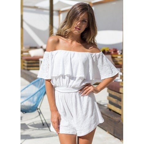 Something Great Playsuit (White)