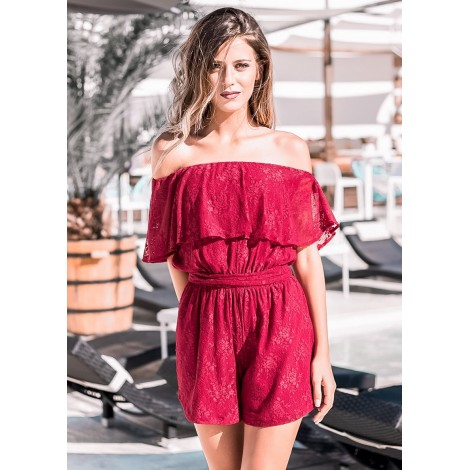 Something Great Playsuit (Wine)