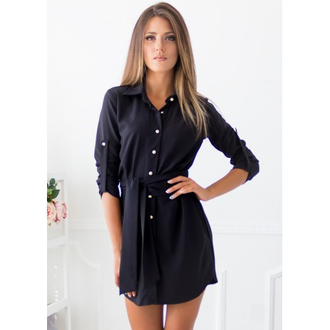 Essence Mini Dress (Black)
