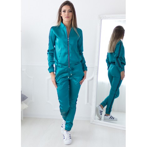 Lavine Satin Set (Emerald)