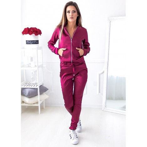 Lavine Satin Set (Wine)
