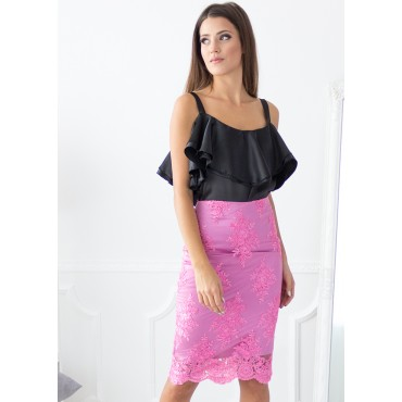 Addicted To Love Skirt (Rose)