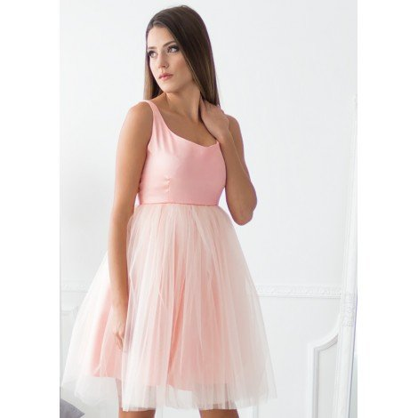 Something Sweet Midi Dress (Peach)