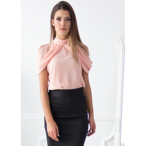One Touch Blouse (Blush)