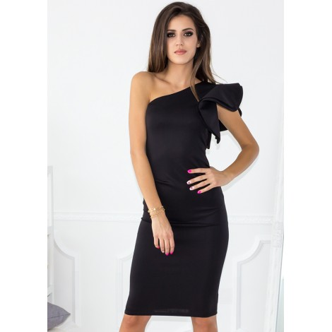 Saturdays Midi Dress (Black)
