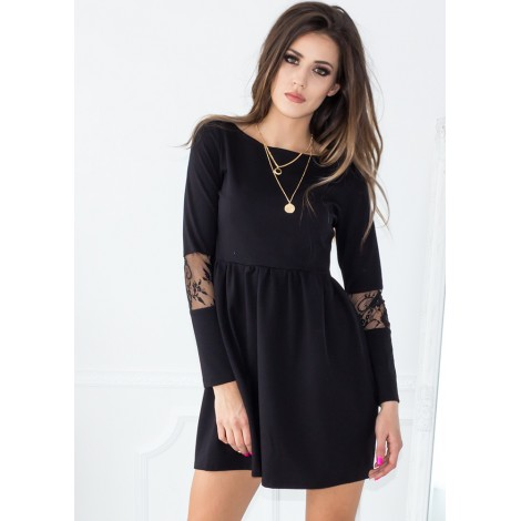 Story Of My Life Mini Dress (Black)