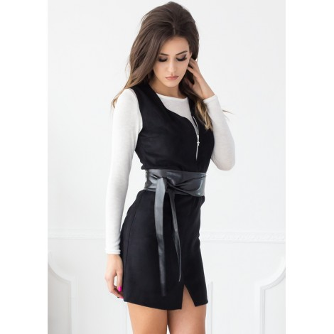 City Girl Mini Dress (Black)