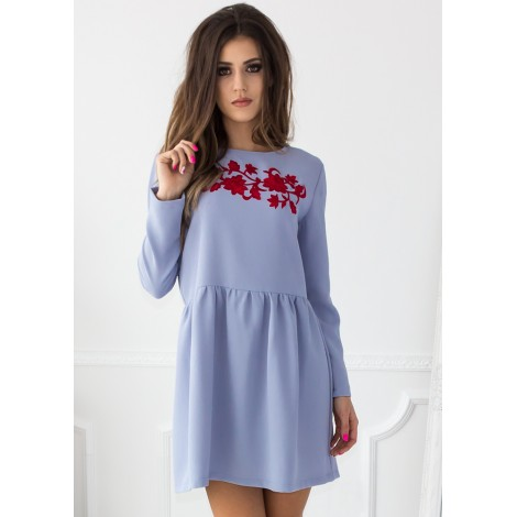 Glory Days Mini Dress (Blue)