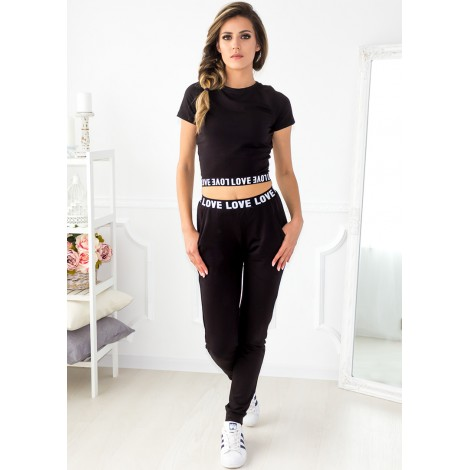 Common Love Two Piece (Black)